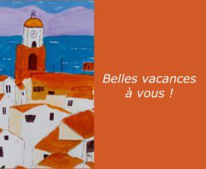 Atelier COOL HEURE - Belles vacances
